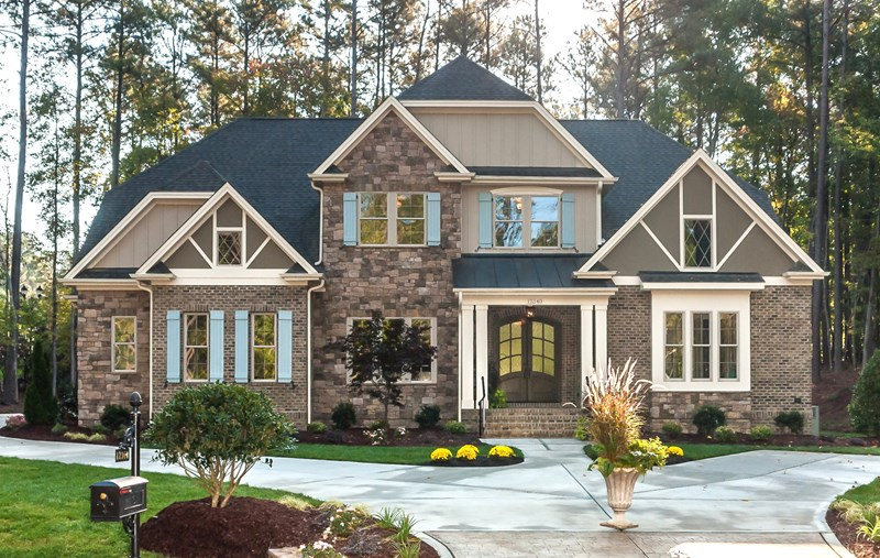 The gates at ethan 39 s glen new homes for sale in north for Modern homes raleigh durham